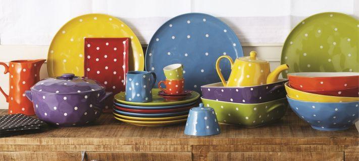 Beautiful Servizio Piatti Colorati Cucina Photos - Home Interior ...